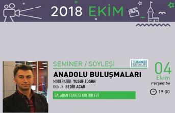 Anadolu Buluşmaları semineri