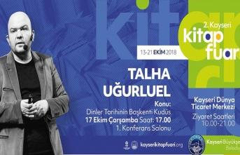 """""""Dinler Tarihinin Başkenti Kudüs"""" konferansı"""