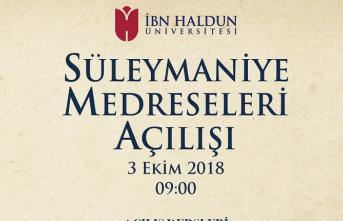 İbn Haldun Üniversitesi Süleymaniye Yerleşkesi açılıyor