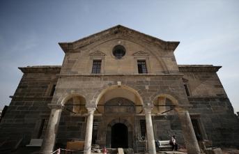 Kayseri Meryem Ana Kilisesi kütüphaneye dönüşüyor
