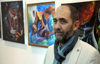 'Kelimenin Kalbi' sergisi Sırbistan'da açıldı