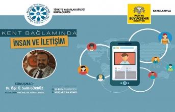 ''Kent Bağlamında İnsan ve İletişim'' programı