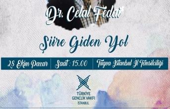 Şiir Okulu'nun konuğu: Dr. Celal Fedai