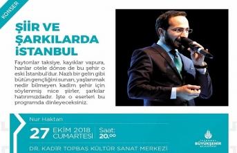 """Şiir ve Şarkılarda İstanbul """"Nur Haktan"""""""