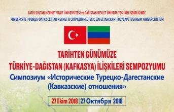 Tarihten Günümüze Türkiye-Dağıstan İlişkileri sempozyumu