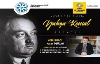 Yahya Kemal vefatının 60. yılında anılacak