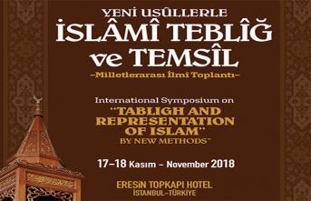 """""""Yeni Usûllerle İslamî Teblîğ ve Temsîl"""" Milletler Arası İlmî Toplantısı"""