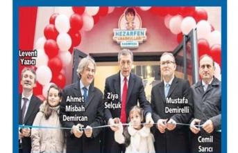 15. Hezarfen Anaokulu Kasımpaşa'da açıldı