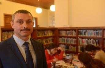 Dr. Rıza Nur İl Halk Kütüphanesinin okuyucu sayısı kent nüfusundan fazla