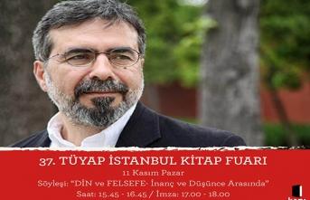 Dücane Cündioğlu 37. Tüyap İstanbul Kitap Fuarı'nda