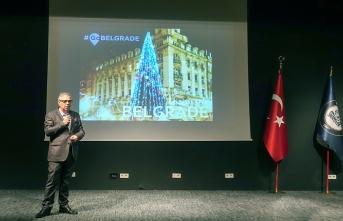 """""""Dünya Şehirleri İçin Evliya Çelebi Rehberi"""" belgeselinin Belgrad bölümünün gösterimi yapıldı"""