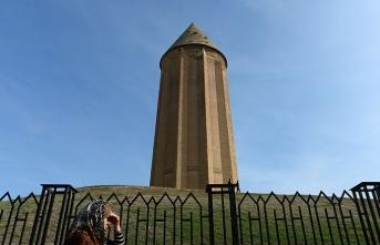 Dünyanın en yüksek tuğla yapısı İran'da: Kabus Kümbeti