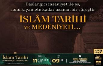 İslam Tarihi ve Medeniyeti sempozyumu