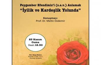 ''İyilik ve Kardeşlik Yolunda'' programı
