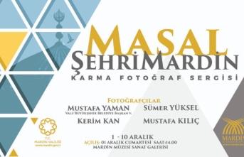 ''Masal Şehri Mardin'' karma fotoğraf sergisi