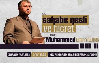 """Muhammed Emin Yıldırım ile """"Bir Konu Bir Konuk"""""""