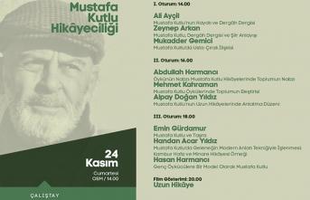 """''Mustafa Kutlu Hikâyeciliği"""" çalıştayı"""