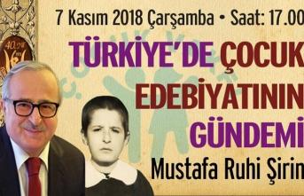 Mustafa Ruhi Şirin TEDEV'de