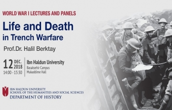 1. Dünya Savaşı seminer ve panel dizisi devam ediyor
