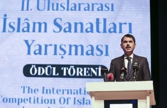 2. Uluslararası İslam Sanatları Yarışması Ödül Töreni