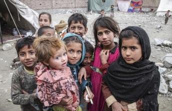 Afgan çocuklar oyunlarında TRT Çocuk karakterlerini canlandırıyor