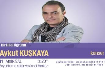 """Aykut Kuşkaya ile """"Bir Hilâl Uğruna"""" konseri"""