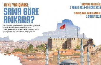 """""""Bir Şehir Olarak Ankara"""" öykü yarışması"""