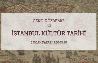 """Cengiz Özdemir ile """"İstanbul Kültür Tarihi"""""""