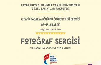 Grafik Tasarım Bölümü öğrencileri sergisi