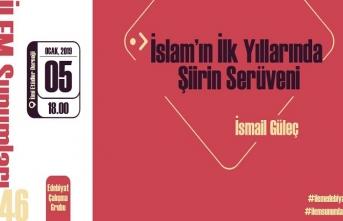 """İLEM Sunumlarında bu hafta: """"İslam'ın İlk Yıllarında Şiirin Serüveni"""""""