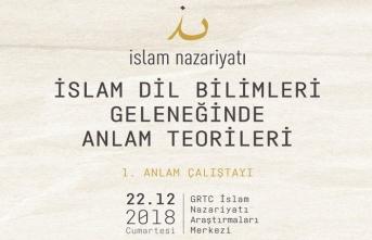 İslam Dil Bilimleri Geleneğinde Anlam Teorileri tartışılacak