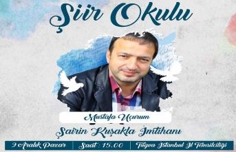"""Mustafa Uçurum ile """"Şairin Kuşakla İmtihanı"""""""