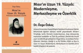 ORMER Kitap Konuşmaları Dr. Özge Özkoç'la başlıyor