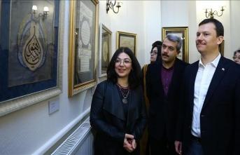 Ankara'da 'Seyr-i Aşk' tezhip sergisi