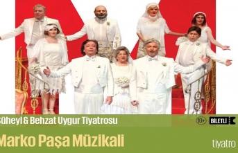 """Süheyl & Behzat Uygur Tiyatrosu'nda  """"Marko Paşa Müzikali"""" sahnelenecek"""