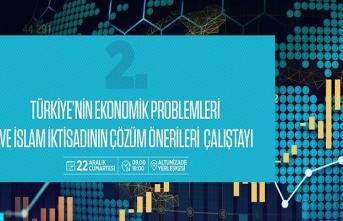 """""""Türkiye'nin Ekonomik Problemleri ve İslam İktisadının Çözüm Önerileri"""" çalıştayı"""