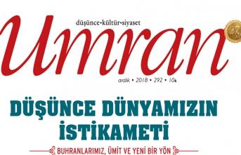 Umran dergisinin Aralık sayısı raflardaki yerini aldı