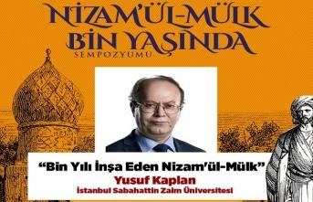 """Yusuf Kaplan'ın """"Bin Yılı İnşa Eden Nizam'ül-Mülk"""" sunumu"""