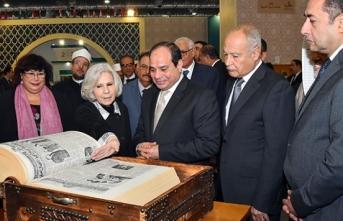 50. Uluslararası Kahire Kitap Fuarı açıldı