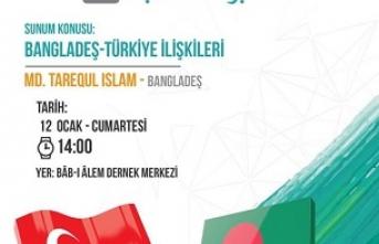 """""""Bangladeş-Türkiye İlişkileri"""" konferansı"""