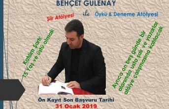Behçet Gülenay ile şiir, öykü, deneme atölyesi