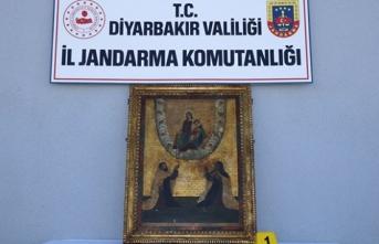 Diyarbakır'da Roma dönemine ait tablolar ele geçirildi