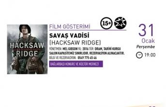 Film gösterimi: Savaş Vadisi