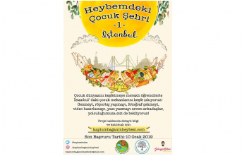 """""""Heybemdeki Çocuk Şehri"""" projesi için başvurular başladı"""