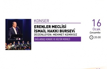 Konser: Erenler Meclisi İsmail Hakkı Bursevî