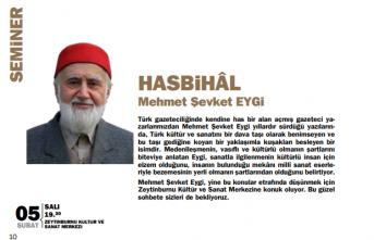 Mehmet Şevket Eygi ile Hasbihâl