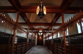 Osmanlı'nın at kültürünü yansıtan 'Ahır Köşkü' restore edildi