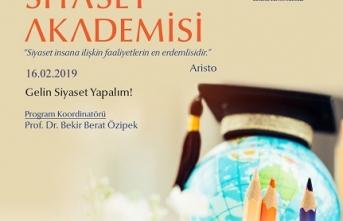 Prof. Dr. Bekir Berat Özipek ile Siyaset Akademisi