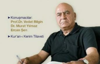Prof. Dr. Hüsamettin Arslan'ı anma toplantısı