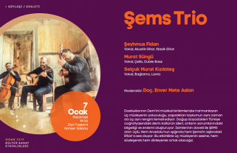 Şems Trio konseri